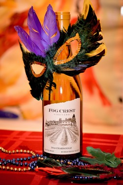 Mardi Gras at Fog Crest Vineyard