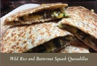 Wild Rice Quesadilla