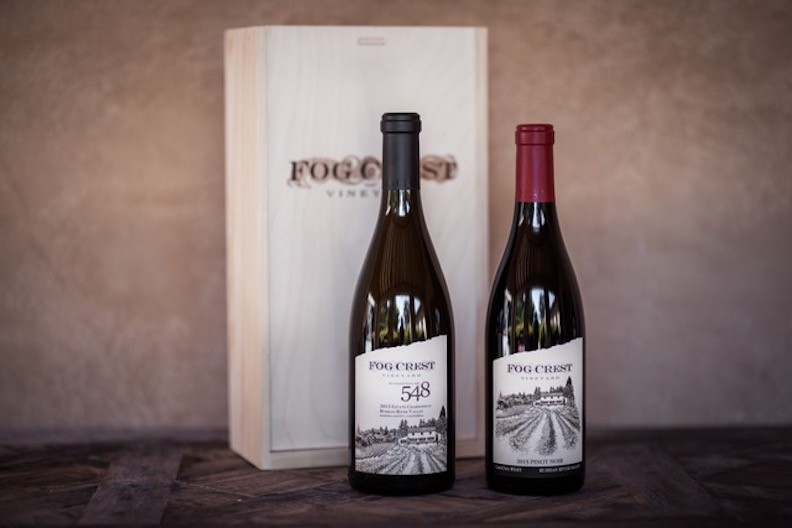 2 Bottle Box Gift Set - 2015 548 & 2015 Laguna West Pinot Noir