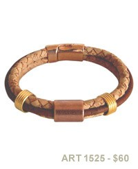 Braided Cork Bracelet