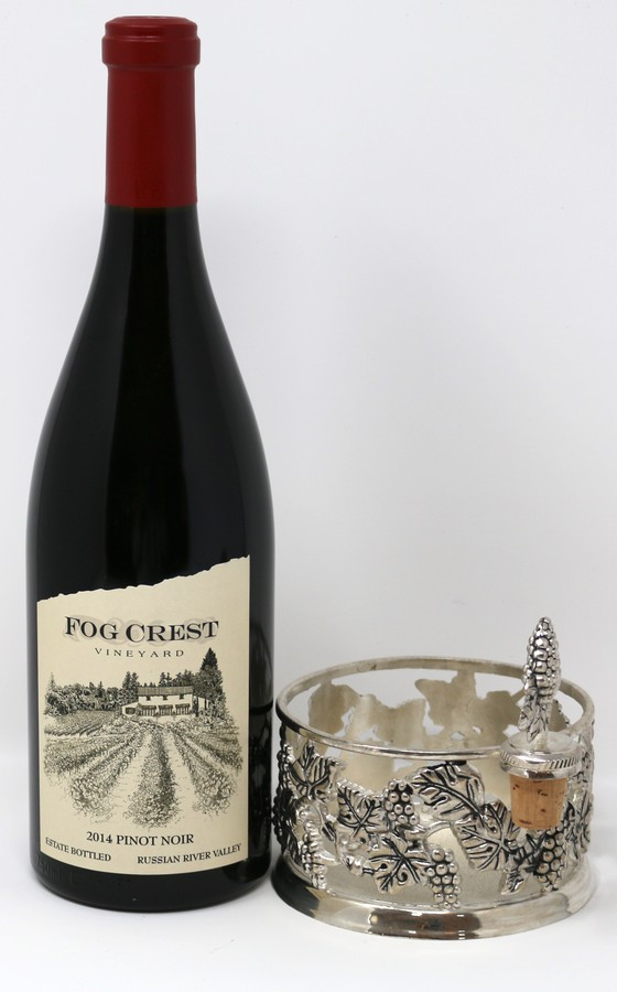 2015 Estate Pinot Noir & Pewter Coaster