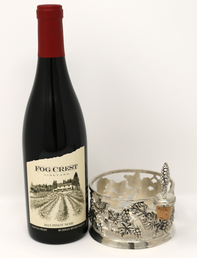 2016 Laguna West Pinot Noir & Pewter Coaster