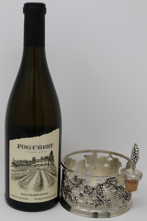 2015 Estate Chardonnay & Pewter Coaster