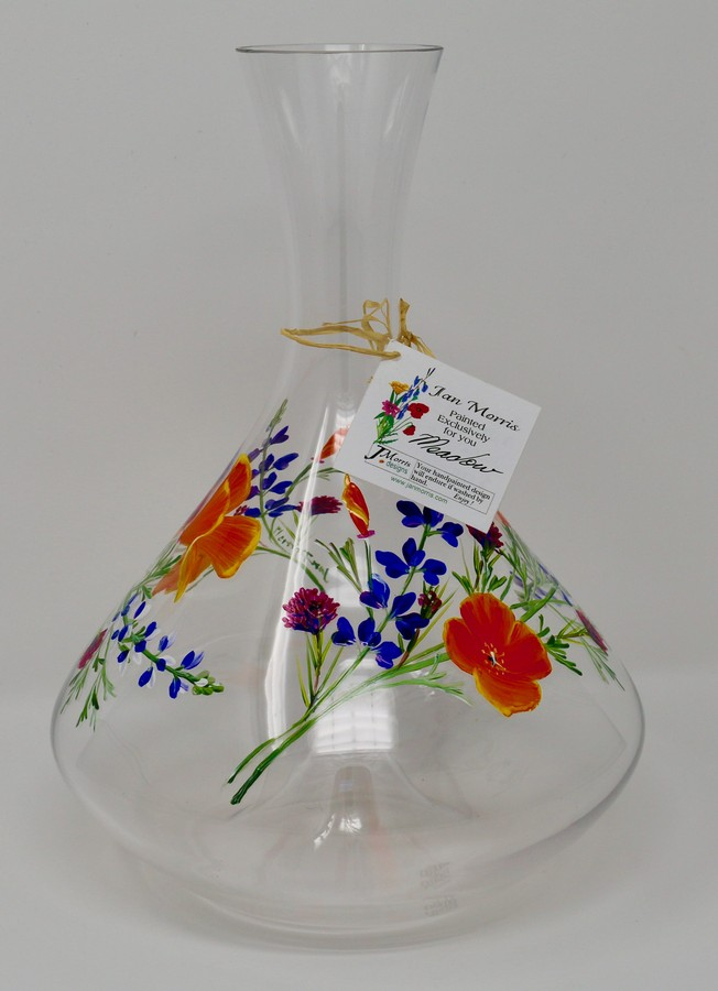 Decanter-Wildflower Image