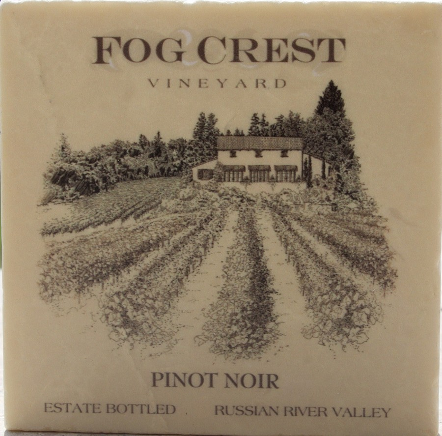 Coaster Single Pinot Noir