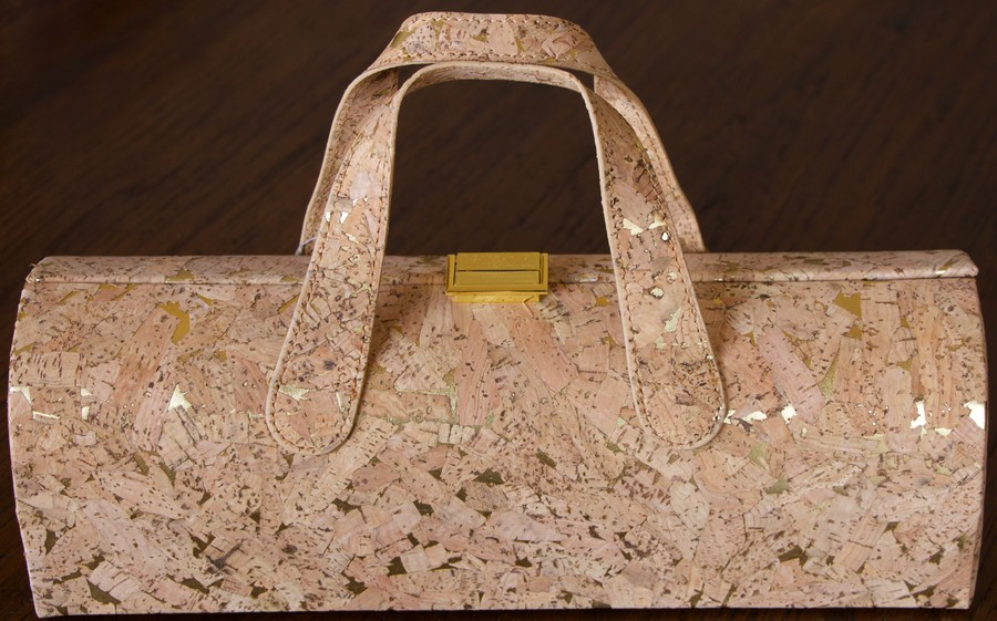 Diva Wine Clutch Cork