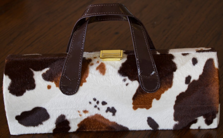 Diva Wine Clutch Pony