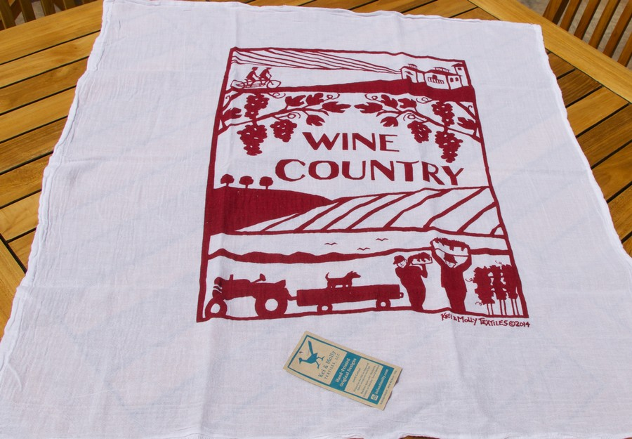 Wine Country Towel-Wine Work