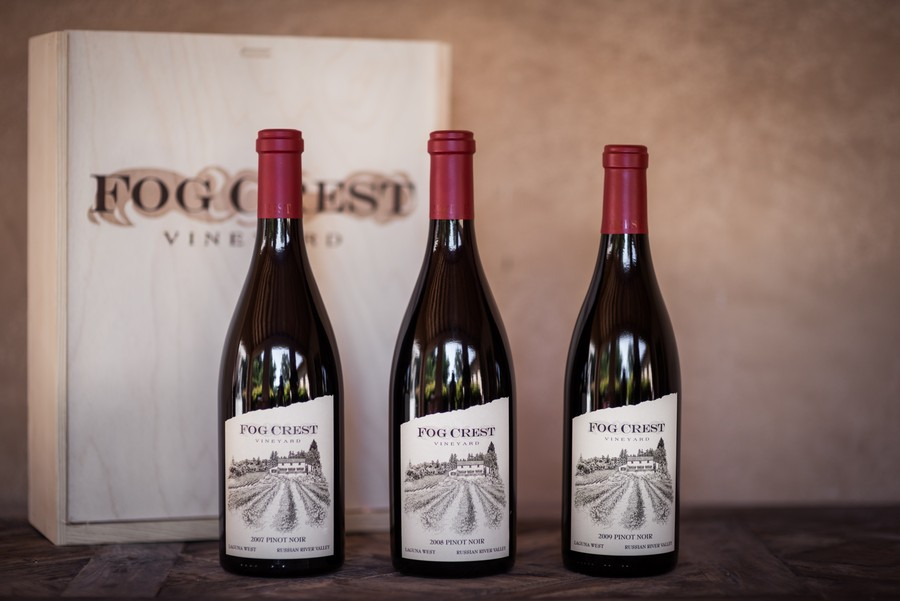 3 Bottle LW Pinot Noir Gift Box Vertical (07, 08 & 09)