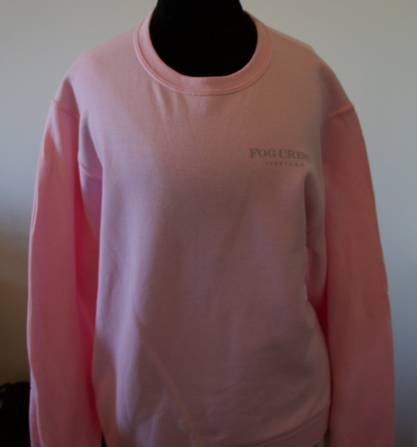 Women's Pink Sweatshirt-S