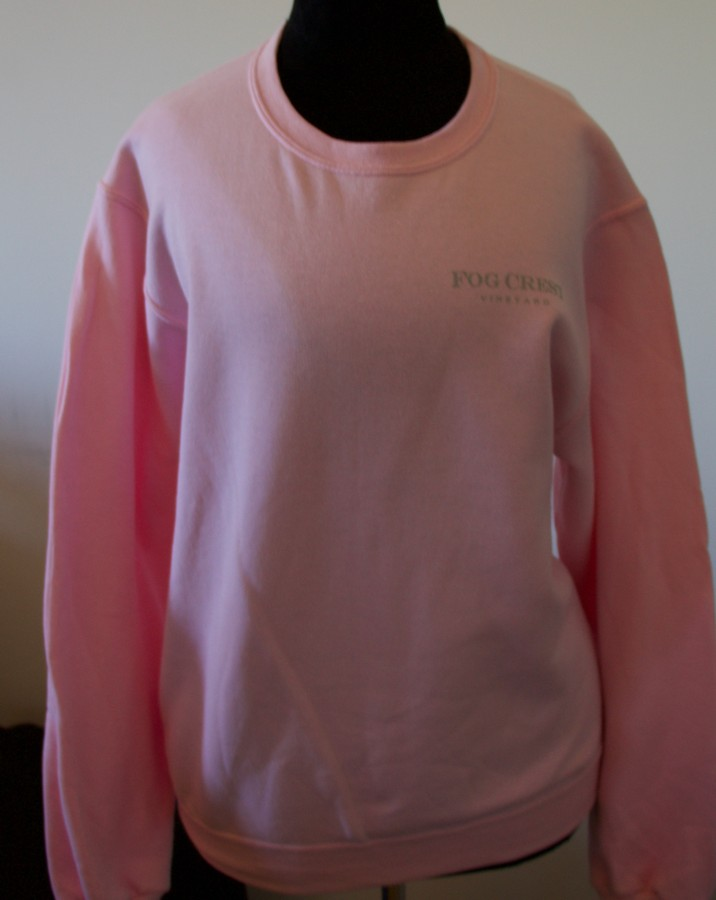 Women's Pink Swearshirt-XL Image