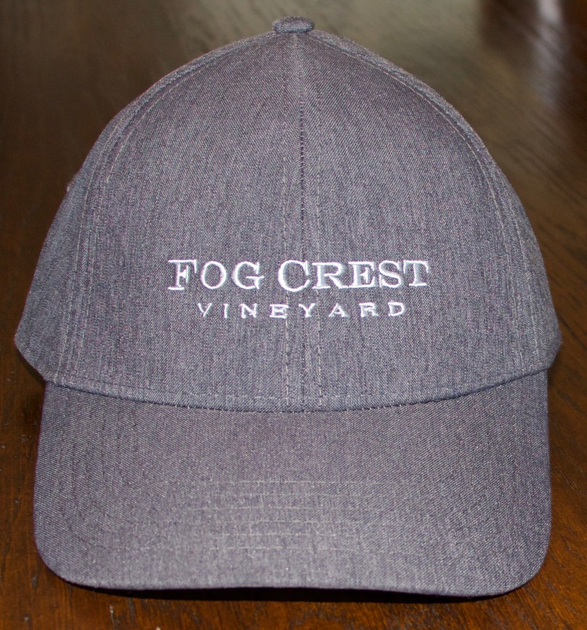 Fog Crest Vineyard Baseball Cap - Heather Charcoal