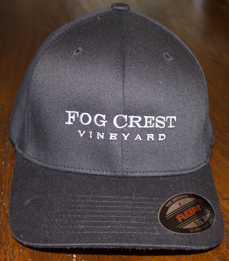 Fog Crest Vineyard Baseball Cap - Black -S/M
