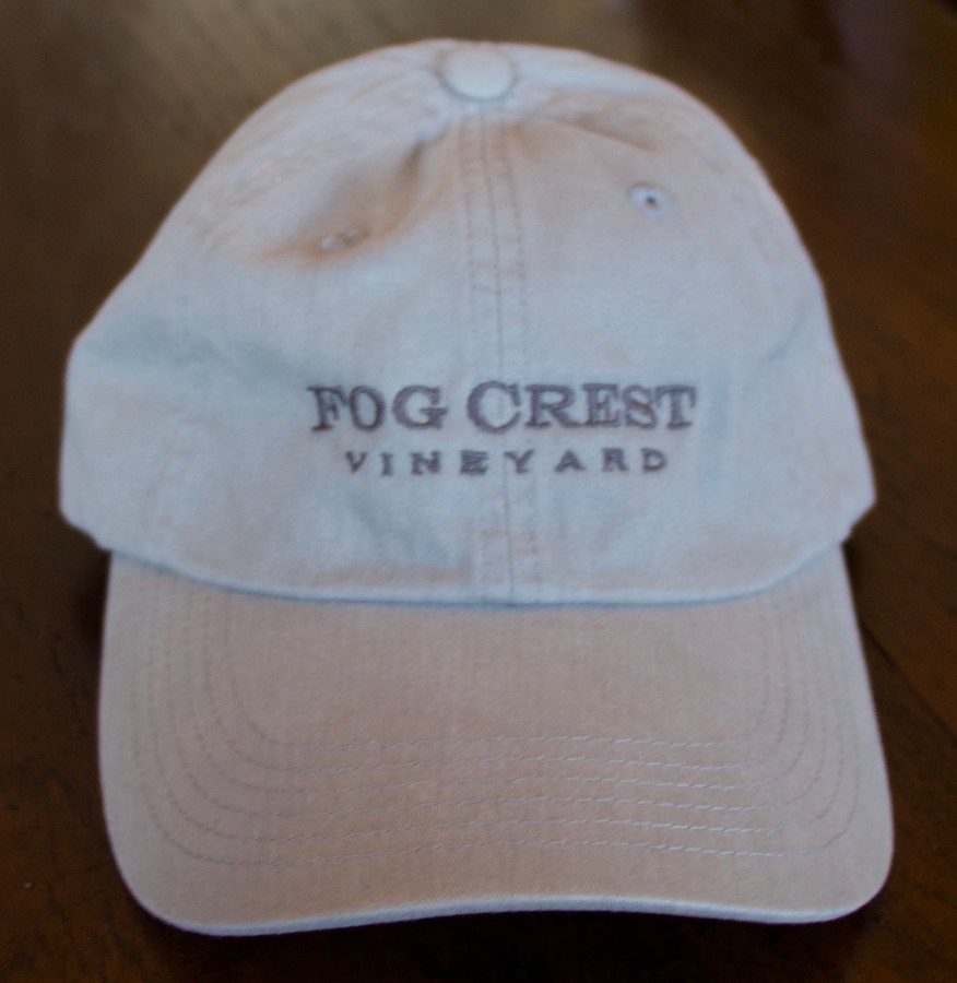 Fog Crest Vineyard Baseball Cap - Chrome