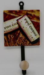 Cork Image Hooks-Vineyard Coaster