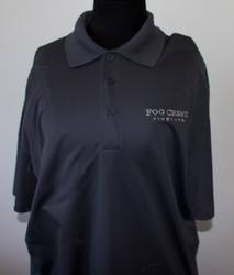 Men's Grey Polo Shirt-M