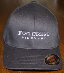 Fog Crest Vineyard Baseball Cap - Black -M/L