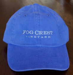 Fog Crest Vineyard Baseball Cap - Faded Blue - Alpine Blue